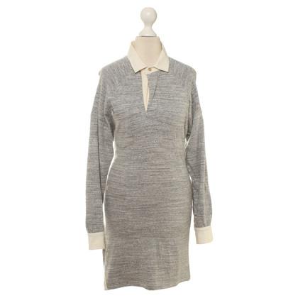 Isabel Marant Camicia abito in grigio melange