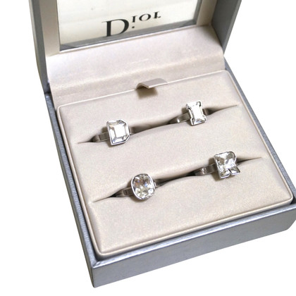Christian Dior Set aus 4 Ringen