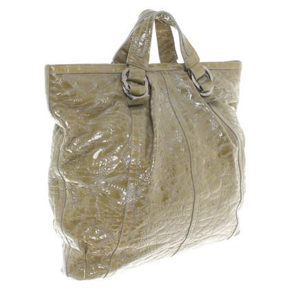 Bulgari Handbag in olive