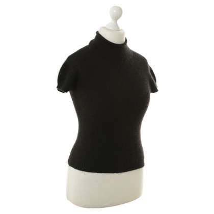 Marithé et Francois Girbaud  Short-sleeved sweater in black
