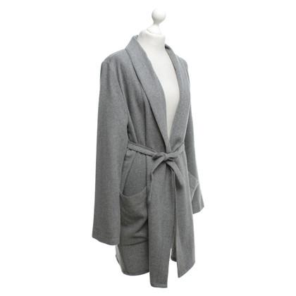 Drykorn Lange jas in grijs