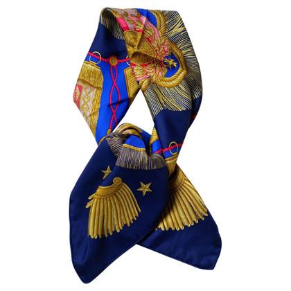 """Hermès Zijden sjaal """"Poste et Cavalerie"""""""