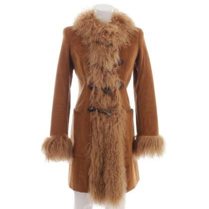 D&G Coat with lamb fur