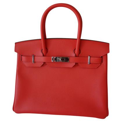 """Hermès """"Birkin Bag 30 Epsom Leather Rose Jaipur"""""""