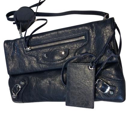 Balenciaga Handtasche Blau Footlocker Bilder Zum Verkauf 2018 Neueste Rabatt Großhandelspreis Bestseller Zum Verkauf FNdbfdnYP