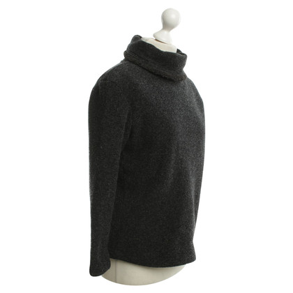 Fendi Roll collar sweater in gray