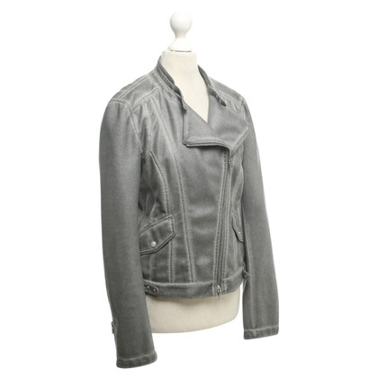 Marc Cain Jacket with lace pattern
