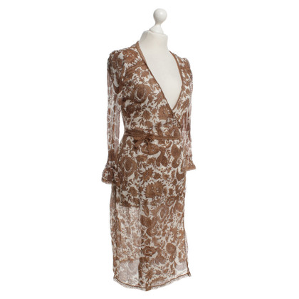 Day Birger & Mikkelsen Semi-transparent wrap dress