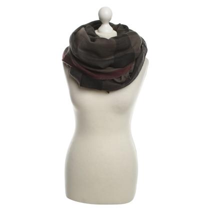 Burberry sciarpa di cachemire con motivo a quadri Nova