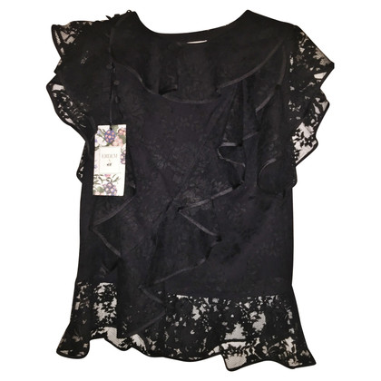 H&M (designers collection for H&M) Erdem X H & M blouse with flounces