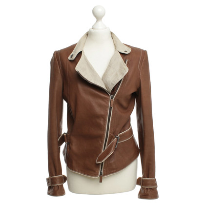 Armani Leather jacket in Brown