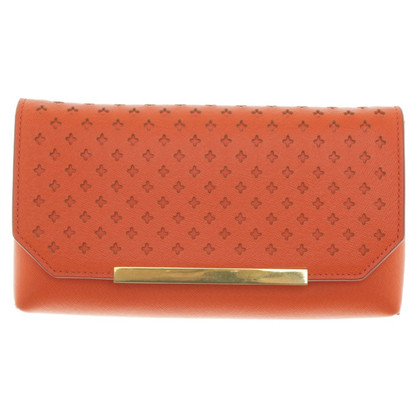 J. Crew clutch leather