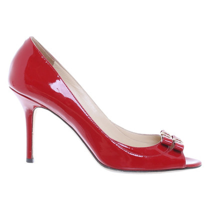 Jimmy Choo Peep-toes in red