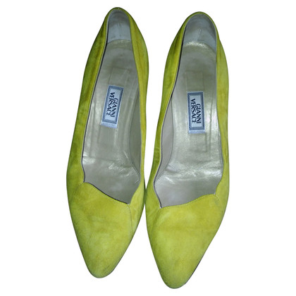 Versace Pumps in yellow