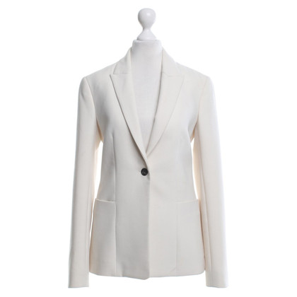 The Row Blazer in Creme