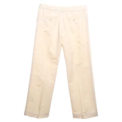 Alessandro Dell'Acqua Pantaloni in crema bianca