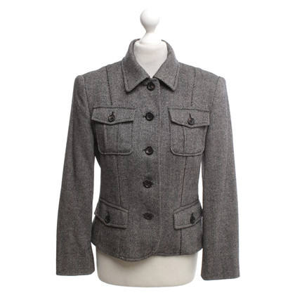 Marc Cain Jacket with herringbone pattern