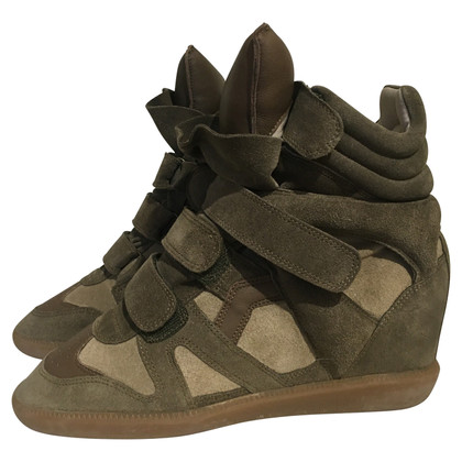 Isabel Marant Wedges in Khaki