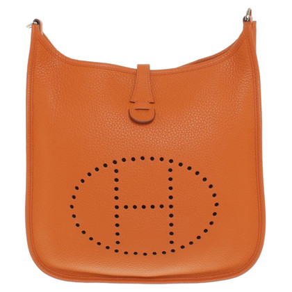 "Hermès ""Evelyne"" in Orange"