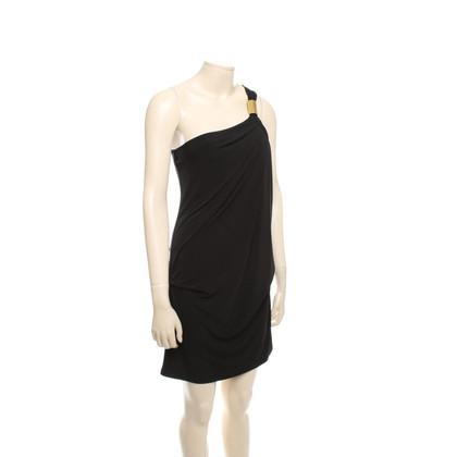 Michael Kors Un vestito dalla spalla in Black