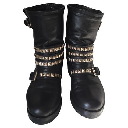 Elisabetta Franchi Biker Boots