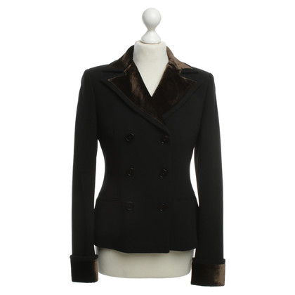 Ralph Lauren Blazer with velvet trim