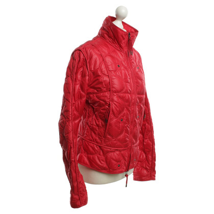 Jet Set Steppjacke in Rot