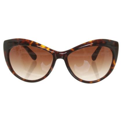 Tory Burch Sonnenbrille in Braun