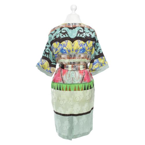 43ed2576e60 Etro Robe en soie avec motif - Acheter Etro Robe en soie avec motif ...