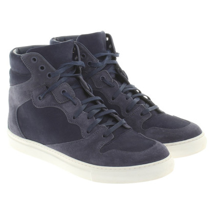Balenciaga High-top sneakers in donkerblauw