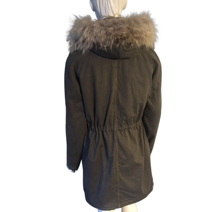 Yves Salomon Parka with fur trim