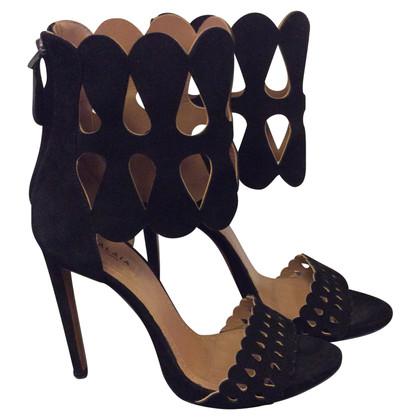 Alaïa Wildleder-Sandaletten