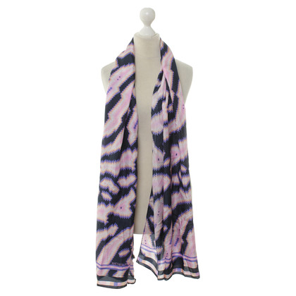 Matthew Williamson Patterned silk scarf