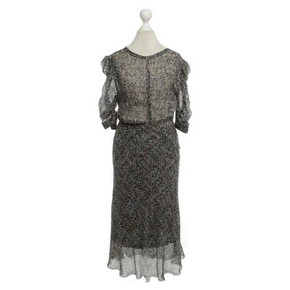 Isabel Marant for H&M zijden jurk met Ethno Print