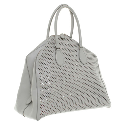 Alaïa Shopper in Grau