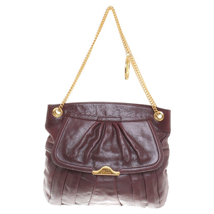 Temperley London Schultertasche in Bordeaux