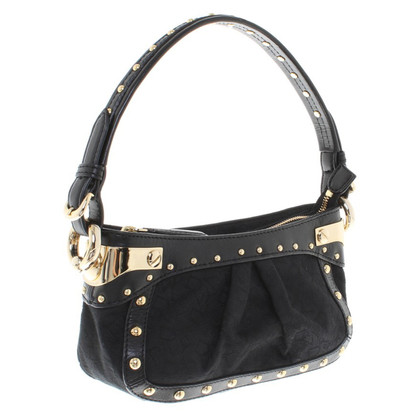 Donna Karan Handbag with rivets