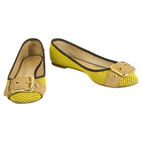 Giuseppe Zanotti Ballerinas Gelb Spielraum Verkauf Mit Paypal Größte Lieferant Für Verkauf  Spitzenreiter 4S4jk1ge