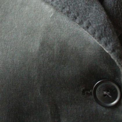 Loro Piana giacca velluto grigio