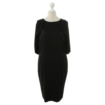 Basler Black dress with Flounce