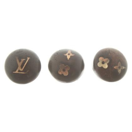Louis Vuitton Ohrringe mit Logo-Muster