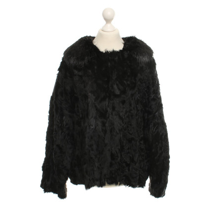 Dolce & Gabbana Lambskin jacket in black