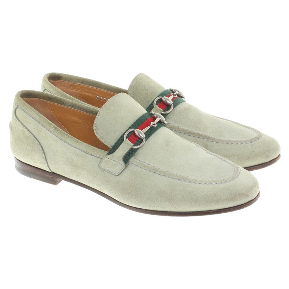Gucci Loafer in Grün