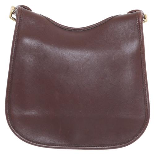 Coach Shoulder Bag Made Of Leather