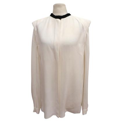 Lanvin camicia di seta con spalline