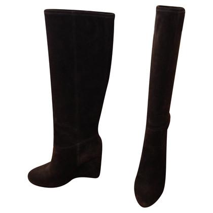 Miu Miu Suede boots
