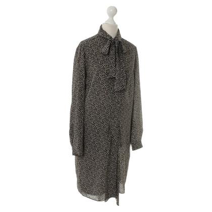 Max Mara zijden jurk afdrukken