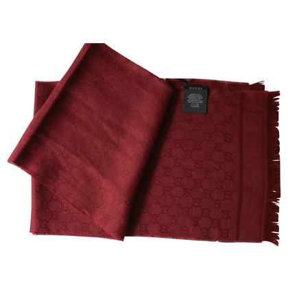 Gucci Guccissima doek in rood