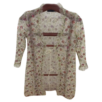 Twin-Set Simona Barbieri Cloak with sleeves