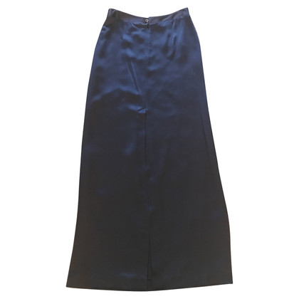 Maison Martin Margiela Black skirt with sequin trim